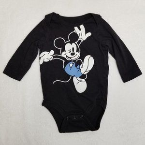 5/$25 Jumping Beans Disney Mickey Mouse Bodysuit